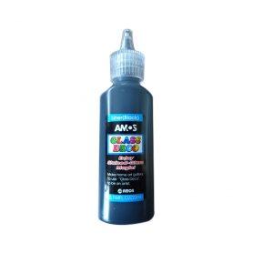 Amos glass vindusmaling svart-liner