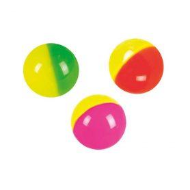 Liten sprettball i assorterte farger
