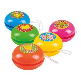 Liten yo-yo i assorterte-farger