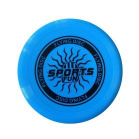 Sendebrett/frisbee-blå
