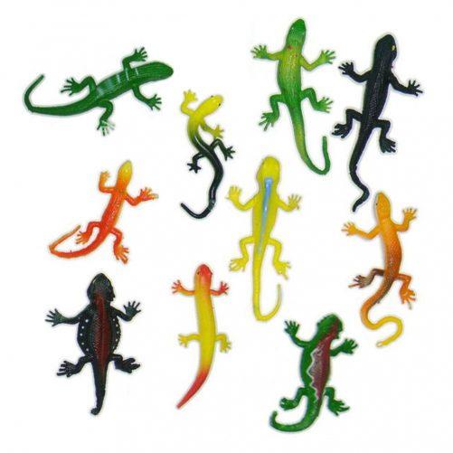 Stretch reptiler i assorterte farger og design
