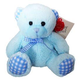 baby keels bamser fra keel toys 15cm blå