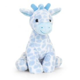 Sjiraff - Keel Toys Plysj 28cm (blå)