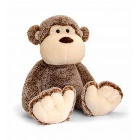 love-to-hug-apekatt-keel-toys-plysj-18cm-brun