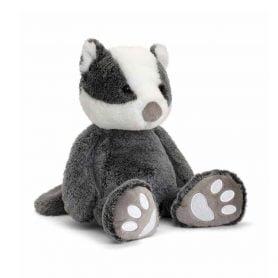 love-to-hug-bever-keel-toys-plysj-18cm-hvit-svart