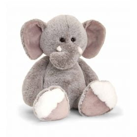 love-to-hug-elefant-keel-toys-plysj-18cm-graa