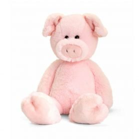 love-to-hug-gris-keel-toys-plysj-18cm-lys-rosa