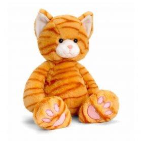 Love to hug katt - Keel Toys plysj 18 cm (grå)