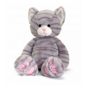 love-to-hug-katt-keel-toys-plysj-18cm-grå