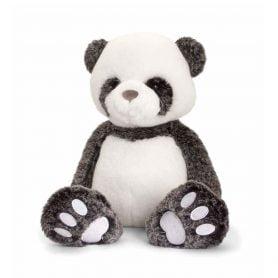love-to-hug-panda-keel-toys-plysj-18cm-hvit-svart