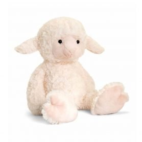 love-to-hug-sau-keel-toys-plysj-18cm-hvit